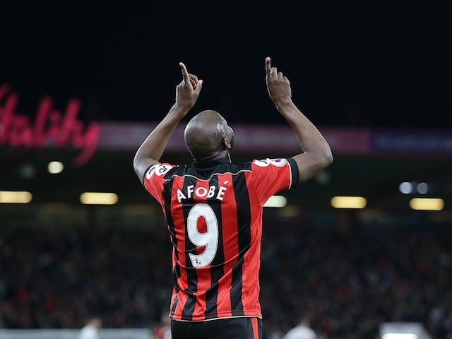 Result: Afobe sends Bournemouth further clear