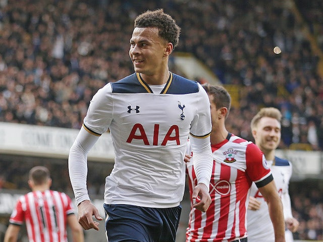 Result: Alli fires Spurs to win over Southampton