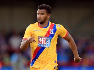 Fraizer Campbell of Crystal Palace on July 27, 2016