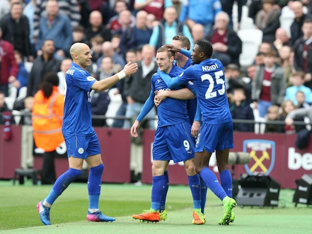Result: Leicester score three in win at West Ham