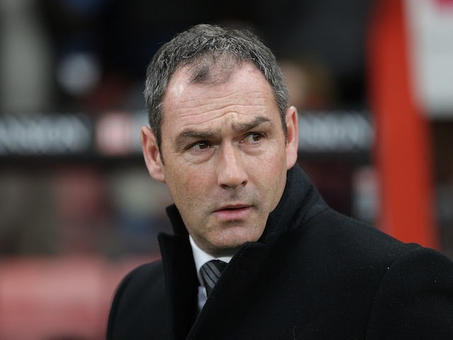 Paul Clement: 'Wilfried Bony unavailable for Leicester City clash'