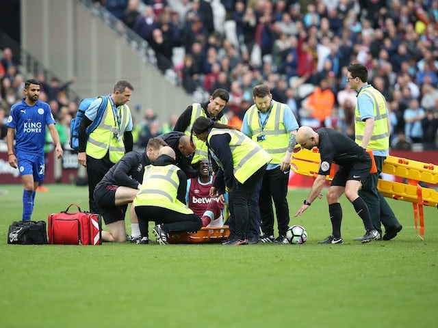 West Ham confirm Obiang will miss season