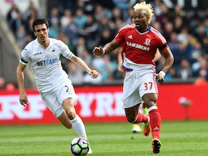 Swansea, Middlesbrough play out goalless draw