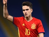 Denis Suarez in action during the friendly between Italy under-21s and Spain under-21s on March 27, 2017