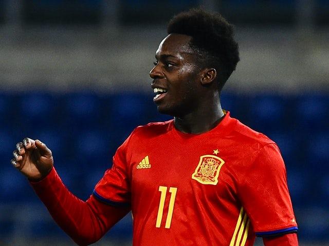 Result: Spain U21s thrash Slovakia to stay top