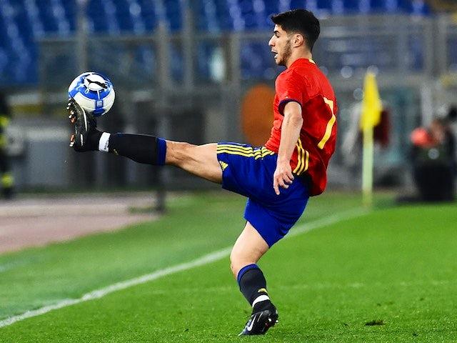 Result: Spain put six goals past Argentina