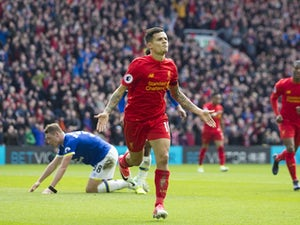 Liverpool up to third with Merseyside derby win
