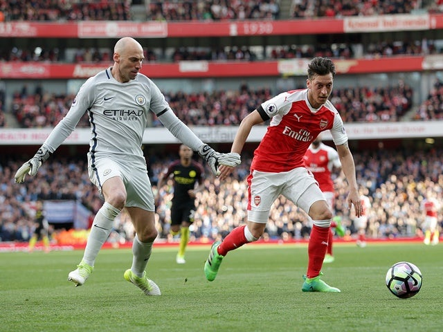 Result: Arsenal show spirit in draw with Man City