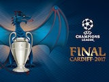 Official logo for the 2017 Champions League final in Cardiff