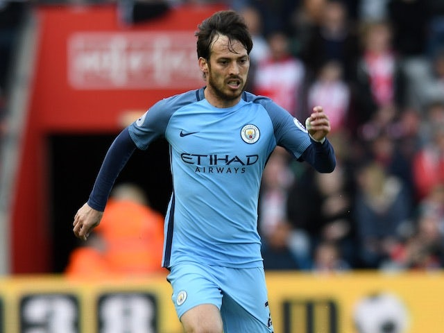 Liverpool and Inter Milan battle for David Silva