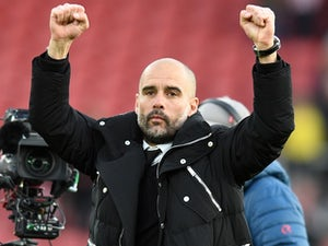 "Guardiola ""encouraged"" players to celebrate"