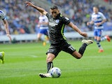 Anthony Knockaert of Brighton & Hove Albion in action against Reading on August 20, 2016