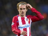 Atletico Madrid forward Antoine Griezmann during the Champions League match against Leicester City on April 18, 2017