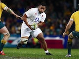 England's Billy Vunipola in action against Australia on June 25, 2016