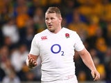 England's Dylan Hartley in action on June 18, 2016