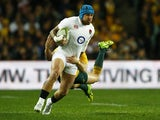 England's Jack Nowell in action against Australia on June 25, 2016