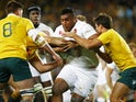 England's Mako Vunipola in action against Australia on June 25, 2016