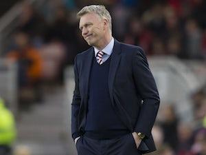 David Moyes happy with Sunderland display