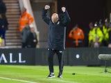 Middlesbrough caretaker manager Steve Agnew celebrates the victory over Sunderland on April 26, 2017