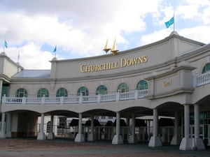 Churchill Downs, home of the Kentucky Derby, pictured in 2006