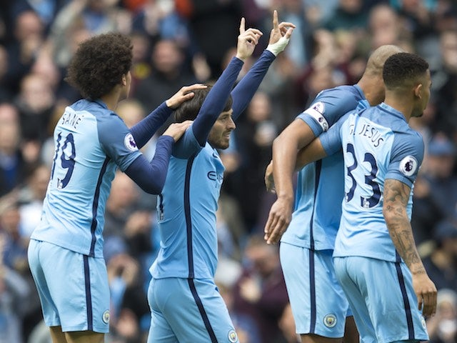 Result: Man City thrash Palace to move third