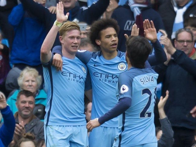 Result: Man City coast to win over West Brom