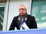 Potential new Boro manager Alan Pardew in the stands during the Premier League game between Chelsea and Middlesbrough on May 8, 2017