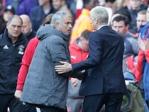 Mourinho aims dig at Arsenal, Wenger