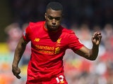Daniel Sturridge in action during the Premier League game between Liverpool and Southampton on May 7, 2017