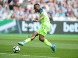 Daniel Sturridge opens the scoring during the Premier League game between West Ham United and Liverpool on May 14, 2017