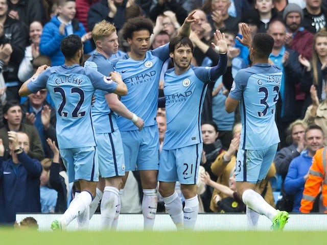 Result: Man City beat Leicester to move third