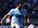 Felipe Anderson in action during the Serie A game between Lazio and Sampdoria on May 7, 2017
