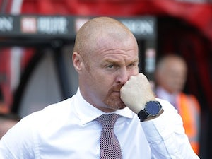 Dyche 'never contacted by Everton'