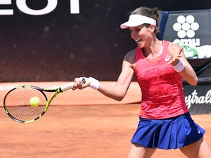 Konta edged out by Ostapenko in Rome
