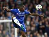Chelsea's Kurt Zouma in action during the Premier League match against Watford on May 15, 2017