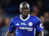 Chelsea's N'Golo Kante in action against Watford during the Premier League match on May 15, 2017