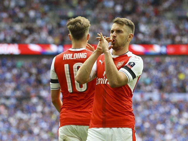 Arsene Wenger tips Aaron Ramsey for Arsenal captaincy ...
