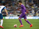 Alvaro Morata in action for Real Madrid against Espanyol in La Liga on September 18, 2016