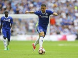 Chelsea's Eden Hazard during the FA Cup final against Arsenal on May 27, 2017