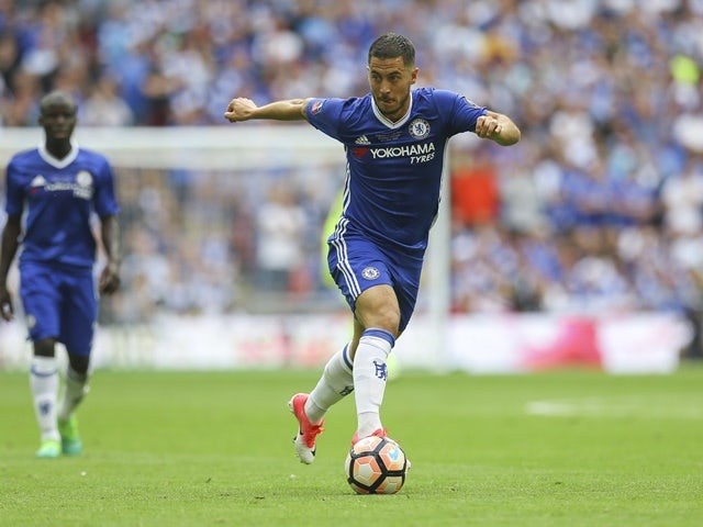 Eden Hazard: 'I am happy at Chelsea'