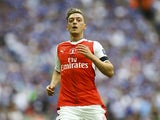 Arsenal's Mesut Ozil during the FA Cup final against Chelsea on May 27, 2017