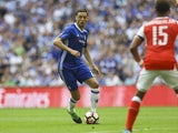 Chelsea's Nemanja Matic during the FA Cup final against Arsenal on May 27, 2017