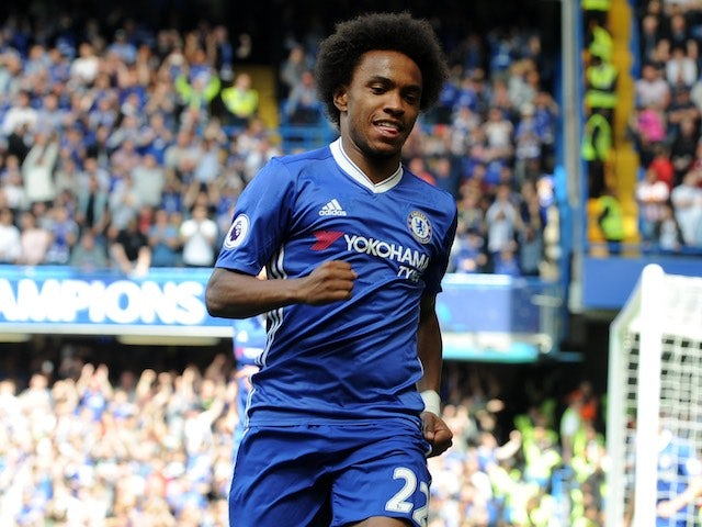 United confident of £30m Willian deal?