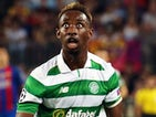 A very alarmed Moussa Dembele in action for Celtic in September 2016