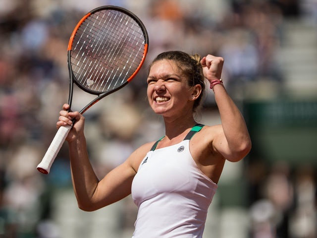 Result: Halep knocks out defending champion Kerber