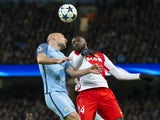 Tiemoue Bakayoko of AS Monaco during the Champions League match against Manchester City on February 21, 2017