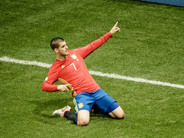 Silva scores twice in Spain rout