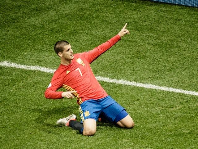 Result: Spain put eight past Liechtenstein