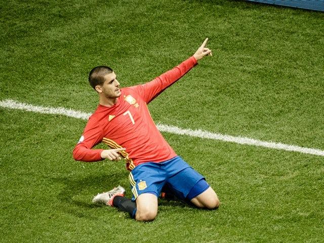 Result: Spain put five goals past Costa Rica