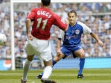 Dennis Wise in action for Chelsea in 2004
